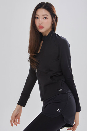 요가복 ANY JACKET QNA3802-BK