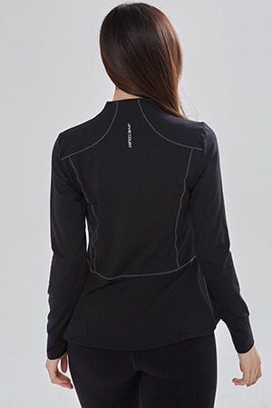 요가복 ANY JACKET QNA3801-BK